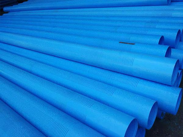 PVC井壁管和过滤器的使用要求